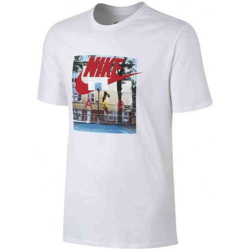 Nike Nsw Air Hybrid Tee Herren T-Shirt Weiss Weiss