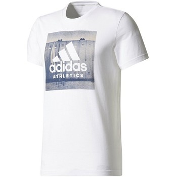 Kleidung Herren T-Shirts adidas Originals Category Ath Herren T-Shirt Weiss blanc