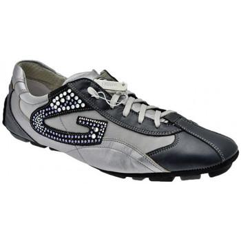 Schuhe Herren Sneaker Low Alberto Guardiani Oceano turnschuhe Blau