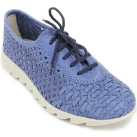 Schuhe Damen Sneaker Low Calzados Vesga The Flexx Over Drive B109_30 Zapatos Casual de Mujer blau