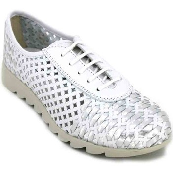 Schuhe Damen Sneaker Low Calzados Vesga The Flexx Over Drive B109_30 Zapatos Casual de Mujer weiss