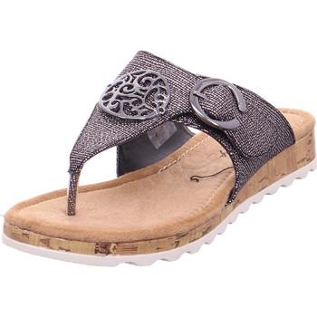 Schuhe Damen Sandalen / Sandaletten Hengst Ladies Comfort Shoes Gun Metal Gun Metal