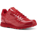 Schuhe Mädchen Sneaker Low Reebok Classic Classic Leather Patent Rot