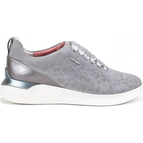 Schuhe Damen Sneaker Low Geox Theragon Grau