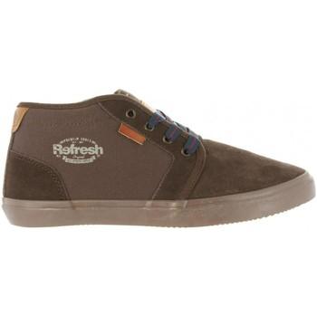 Schuhe Herren Boots Refresh 63944 Marrón