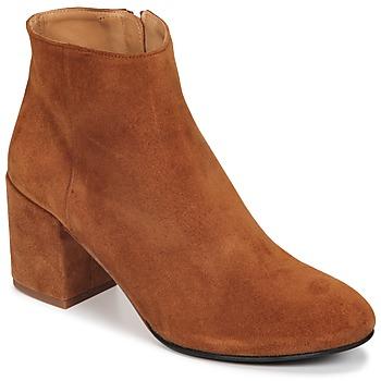 Schuhe Damen Low Boots Emma Go ELNA Cognac