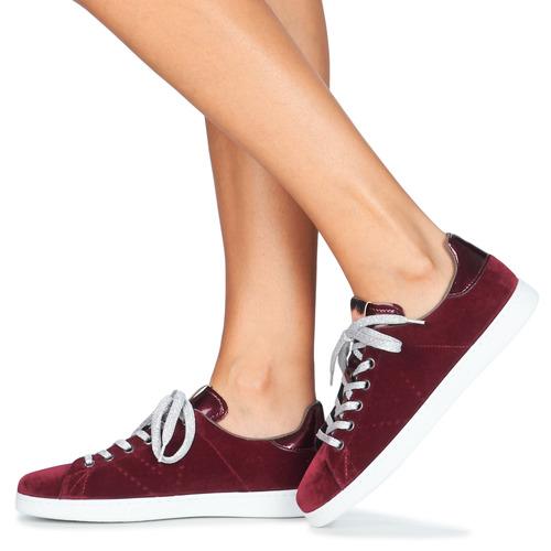 Victoria DEPORTIVO TERCIOPELO Bordeaux  Schuhe Schuhe Schuhe Turnschuhe Low Damen 3b6f22