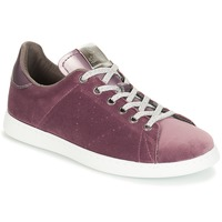 Schuhe Damen Sneaker Low Victoria DEPORTIVO TERCIOPELO Violett