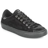 Schuhe Damen Sneaker Low Victoria DEPORTIVO TERCIOPELO Schwarz