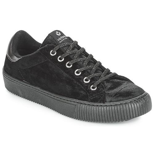 Victoria DEPORTIVO TERCIOPELO Schwarz  Schuhe Sneaker Low Damen 55