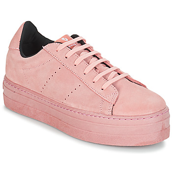 Schuhe Damen Sneaker Low Victoria DEPORT SERRAJE MONOCOLOR Rose