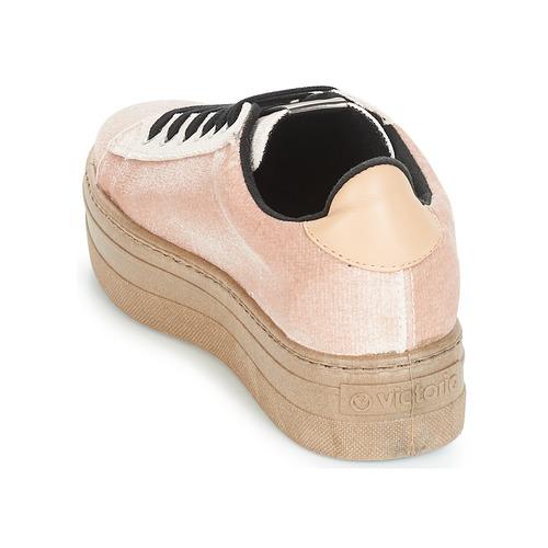 Victoria DEPORTIVO TERCIOPELO/CARAM Beige  69 Schuhe Sneaker Low Damen 69  bd80a3
