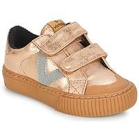 Schuhe Mädchen Sneaker Low Victoria DEPORTIVO VELCRO METALIZAD Rose