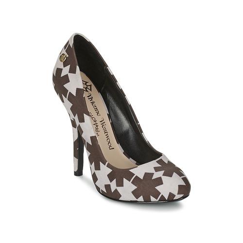 Schuhe Damen Pumps Vivienne Westwood MAGGIE II Schwarz / Weiss