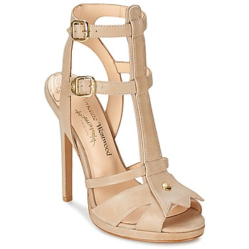 Schuhe Damen Sandalen / Sandaletten Vivienne Westwood CAVIL Beige