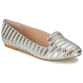 Schuhe Damen Ballerinas Carvela LYCHEE Silbern