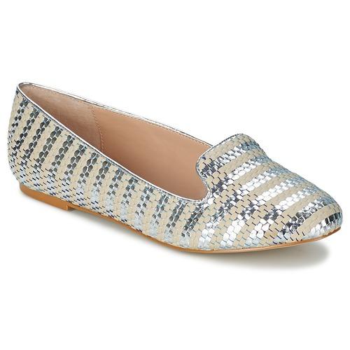 Carvela LYCHEE Silbern  Schuhe Ballerinas Damen 53,90