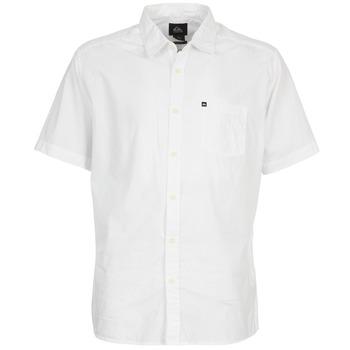 Kleidung Herren Kurzärmelige Hemden Quiksilver EVERYDAY SOLID SS Weiss