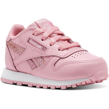 Schuhe Kinder Sneaker Low Reebok Classic Classic Leather Spring Rosa / Weiß
