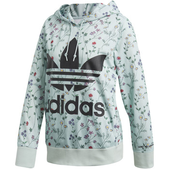 Kleidung Damen Trainingsjacken adidas Originals Hoodie green