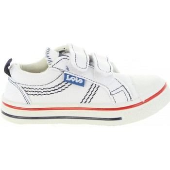 Schuhe Kinder Sneaker Low Lois 60024 Blanco