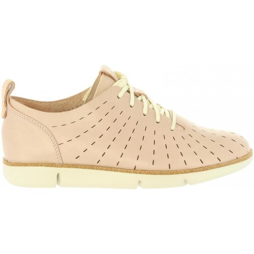 Schuhe Damen Derby-Schuhe & Richelieu Clarks 26132527 TRI ETCH Beige