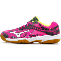 Schuhe Kinder Indoorschuhe Mizuno Wave Lightning Star Z4 Junior Rose
