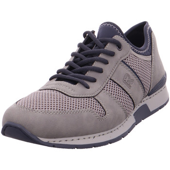 Schuhe Herren Sneaker Low Rieker - 19400-41 cement/dust/navy