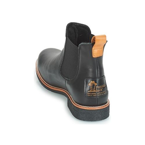 Panama Schuhe Jack GIORDANA Schwarz  Schuhe Panama Boots Damen 199 8956b0