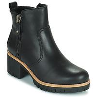 Schuhe Damen Low Boots Panama Jack PAULINE Schwarz