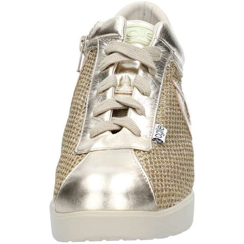 Agile By Ruco Line 0226-83398 Sneaker Frau Gold Gold