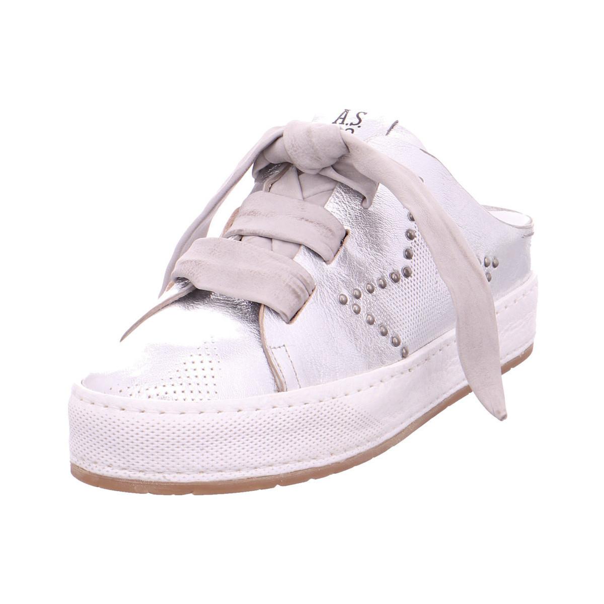 Airstep / AS98 - 852106-0201-0002 Argento/Grigio/White - Schuhe Pantoletten / Clogs Damen 199,95 €