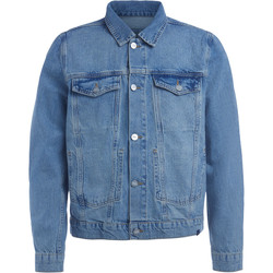 Kleidung Herren Jacken Wood Wood Jacke Angel in Denim Blau Blue