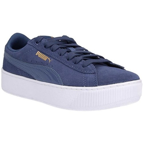 Schuhe Damen Sneaker Low Puma 363287-13 Blue