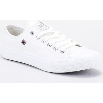 Schuhe Herren Sneaker Low Big Star V174347 Weiß