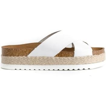 Schuhe Damen Pantoffel Colour Feet MACARELLA Weiss