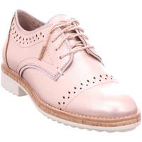 Schuhe Damen Derby-Schuhe Jana Da.-Schnürer ROSE METALLIC