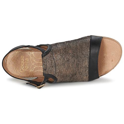 Coqueterra CRAFT Schwarz  Schuhe Sandalen / Sandaletten Damen 79,99