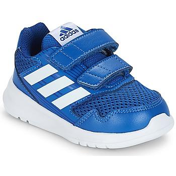 Schuhe Kinder Sneaker Low adidas Originals ALTARUN CF I Blau