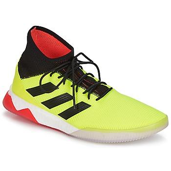 Schuhe Herren Fußballschuhe adidas Performance PREDATOR TANGO 18.1 TR Gelb / Schwarz / Rot