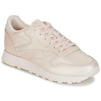 Schuhe Damen Sneaker Low Reebok Classic CLASSIC LEATHER Rose