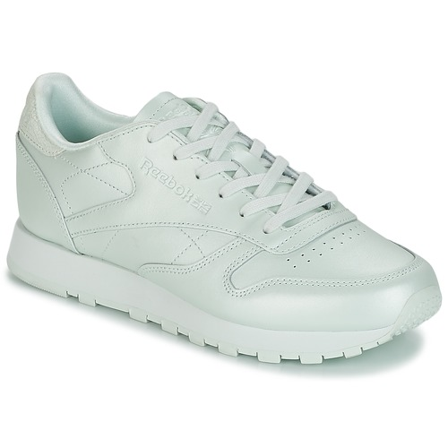 Reebok Classic CLASSIC LEATHER Grün  Schuhe Sneaker Low Damen 89,95