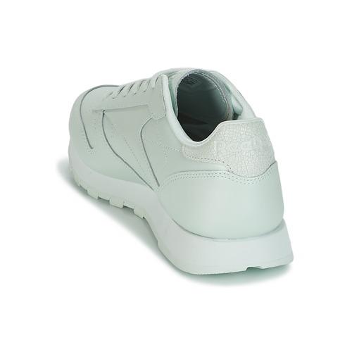 Reebok Classic CLASSIC LEATHER Grün  Schuhe Sneaker Low Damen 89,95