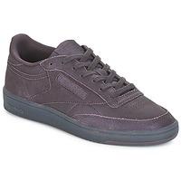 Schuhe Damen Sneaker Low Reebok Classic CLUB C 85 Violett