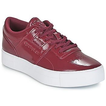 Schuhe Damen Sneaker Low Reebok Classic WORKOUT LO FVS Bordeaux