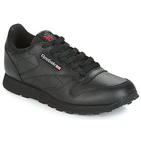 Schuhe Kinder Sneaker Low Reebok Classic CLASSIC LEATHER J Schwarz