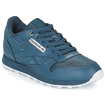 Schuhe Kinder Sneaker Low Reebok Classic CLASSIC LEATHER J Marine