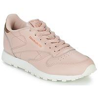 Schuhe Mädchen Sneaker Low Reebok Classic CLASSIC LEATHER J Rose