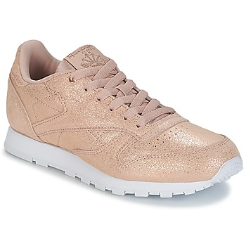 Schuhe Mädchen Sneaker Low Reebok Classic CLASSIC LEATHER J Gold