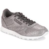 Schuhe Mädchen Sneaker Low Reebok Classic CLASSIC LEATHER J Grau
